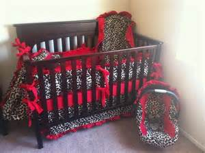 Cheetah Print Crib Bedding by 21 Best Images About Cheetah Print Baby Bedding On