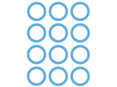 printable envelope seals his hers blue black circle printable envelope seals