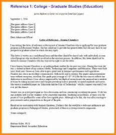 8 attachment recommendation letter sle plan