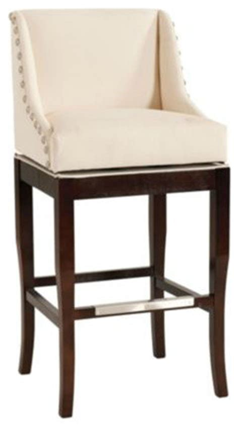 Bar Stools With Nailhead Trim by Marcello Barstool With Pewter Nailhead Trim