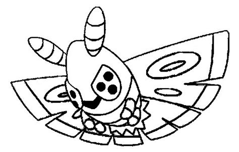 Coloring Pages Pokemon Dustox Drawings Pokemon Where The Things Are Coloring Pages