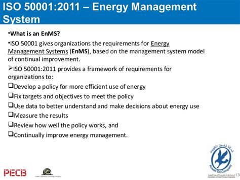Effective Implementation Of An Iso 50001 Energy Management System Enms pecb webinar iso 50001 2011 understanding energy management system