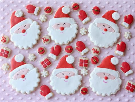 images of christmas treats munchkin munchies smiling santa cookies