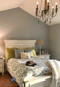 sherwin williams ellie gray   master bedroom  white