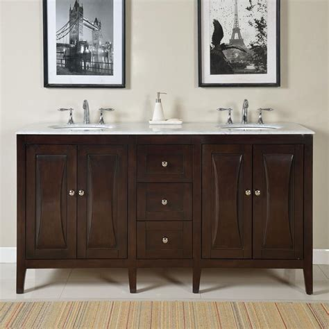 68 bathroom vanity 68 inch modern double bathroom vanity with a carrara white
