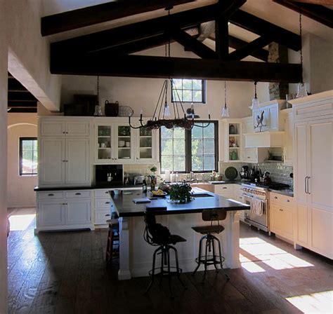 open concept farmhouse farmhouse open concept kitchen in montecito ca