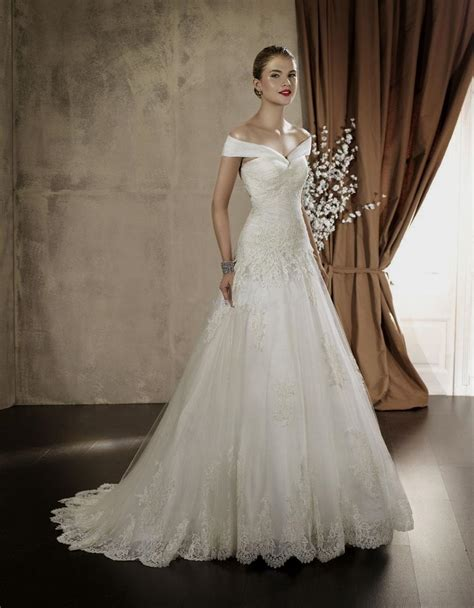 Wedding Dress The Shoulder by The Shoulder Princess Wedding Dress Fashion Dresses