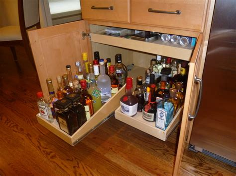 Kitchen Liquor Cabinet Pull Out Shelves For Your Bar Or Liquor Cabinet Cabinet And Drawer Handle Pulls Other