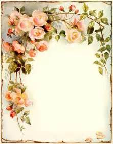 Vintage paper vintage roses and vintage on pinterest