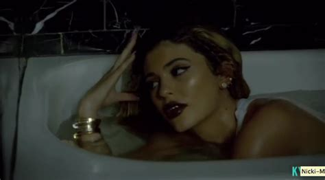 kylie jenners bathroom kylie jenner writhes around in bath as selfie queen