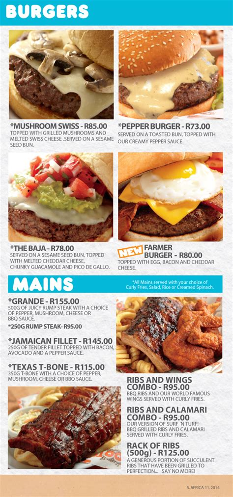 Emperor S Kitchen Menu by Hooters Emperors Palace Restaurant In Kempton Park