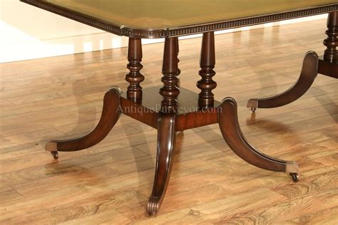 mahogany dining table with inlay seats 10 12