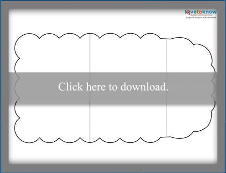 purse shaped card template free card templates lovetoknow