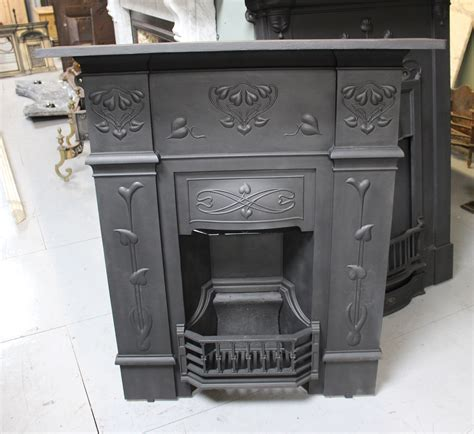 Nouveau Cast Iron Fireplace by Charles Graham Architectural Antiques And Fireplaces