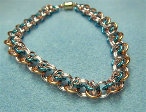 how to make chainmail jewelry free chain maille tutorials the rainbow choo choo