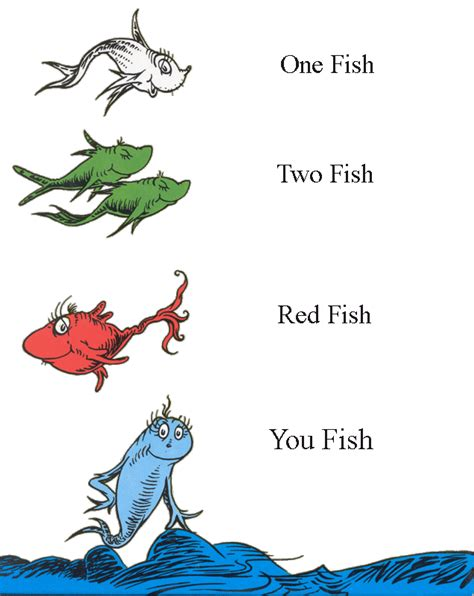one fish two fish red fish you fish boysrus