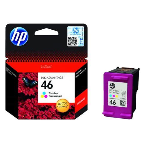 Hp Deskjet Ink Advantage 46 Color hp 46 tri colour ink cz638ae top of clinics ru