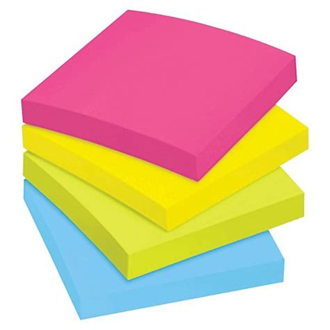 Post It Multi Page sticky notes 3 quot x 3 quot post it multi colored target