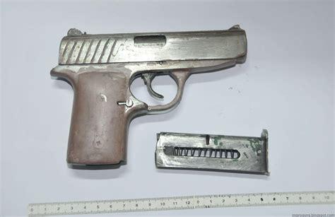 Handmade Gun - handmade semi auto pistol impro guns