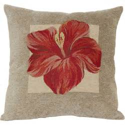 hibiscus decorative pillow walmart