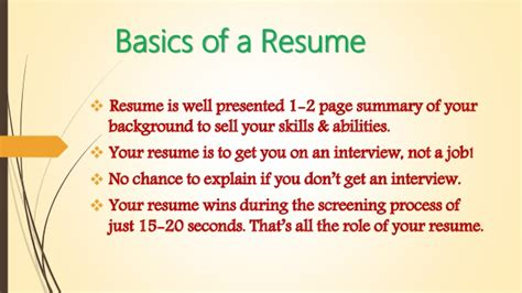 effective resume writing effective resume writing for engineering freshers