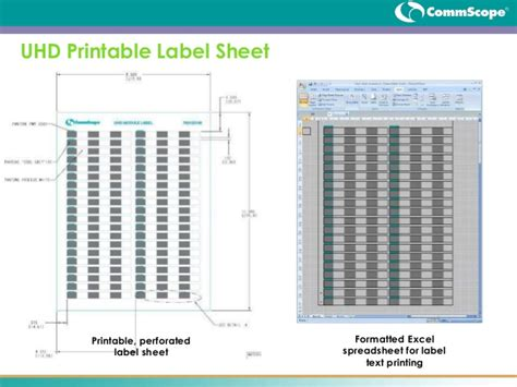 printable wire label sheets systimax 360 ultra high density data center connectivity