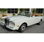 1996 Rolls Royce Corniche Convertible  CLASSIC CARS TODAY