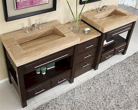 "Silkroad 92"" Double Sink Cabinet w/Drawer Bank, Vanity Top"