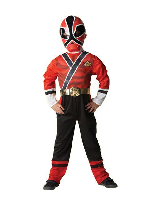 child power rangers samurai fancy dress
