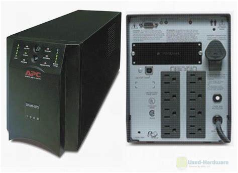 Baterai Ups Apc 1000 apc sua1000 smart ups tower backup 1000va 670w 120v