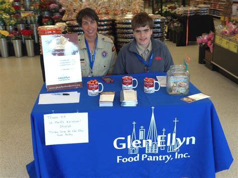 st mark s boy scouts troup 44 supports glen ellyn food