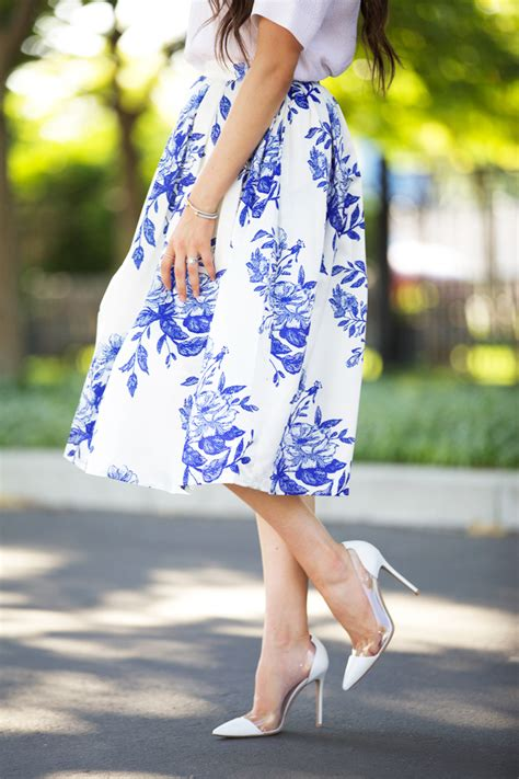 blue floral pink peonies by rach parcell bloglovin