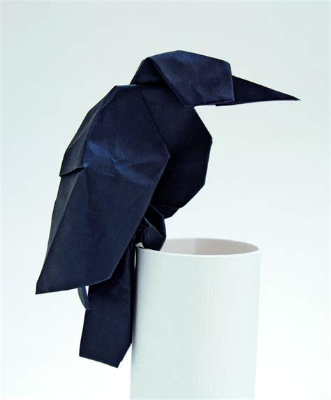origami raven tutorial 40 beautiful exles of origami artworks