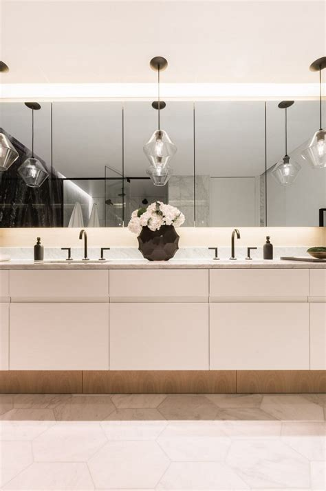 bathroom pendant lighting adds sophisticated touch to