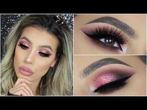 tutorial makeup huda beauty new rose gold palette by huda beauty eyeshadow tutorial