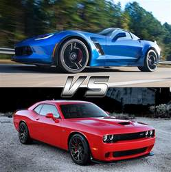 hellcat vs z06 corvette upcoming chevrolet