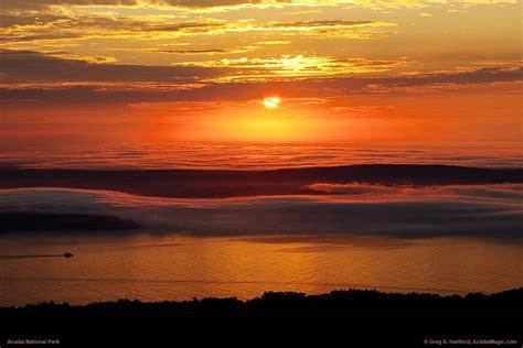 Cadillac Mountain Sunrise in Acadia