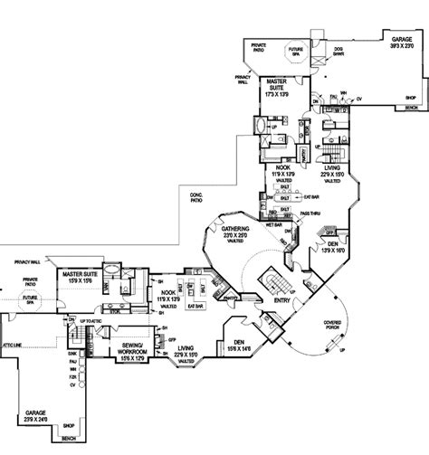 place multi family home plan 085d 0775 house