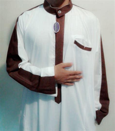 Busana Muslim Baju Gamis Baju Jubah Pria Dewasa Jubah Saudi Putih baju gamis pria