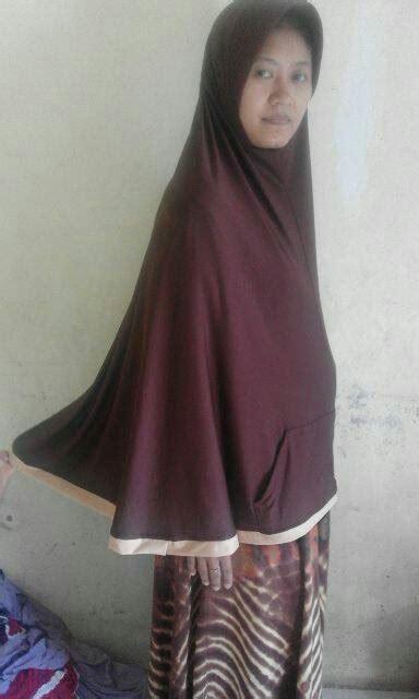 Bergo Farida Pocket Syar I Khimar Farida Pocket Farida Saku bergo farida pocket saku jilbab instan