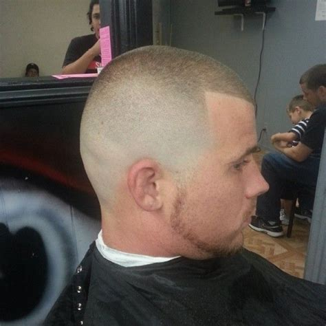 bald fade with 1 on top military latest trends in men s bald fade haircut page 9