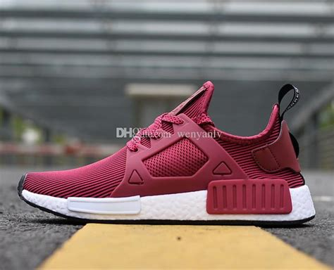 2018 new originals nmd xr1 primeknit wine mens womens nmd sneakers running shoes boost size