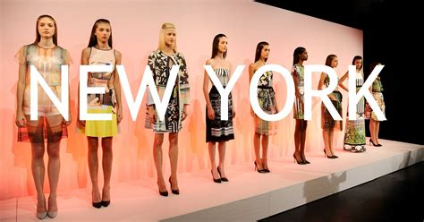 Ny Mercedes Fashion Week Adelanto Ny Fashion Week Prim Ver 2015 Revestida