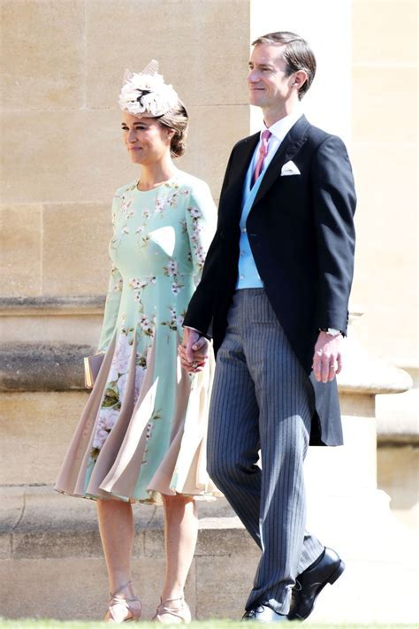 Pippa Middleton's Baby Bump Spotted at the Royal Wedding