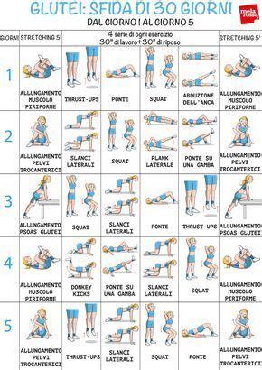 Sedere Senza Cellulite by Questo Programma Di Allenamento Con Esercizi Glutei