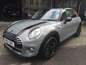 the weekend will sandry collected his new mini cooper