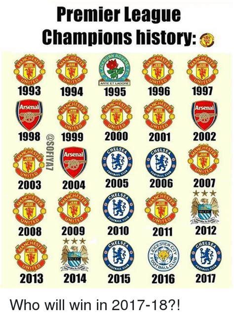 epl winners since 2000 25 best memes about premier league premier league memes