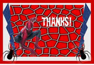 9 best images of spider man party printables spider man