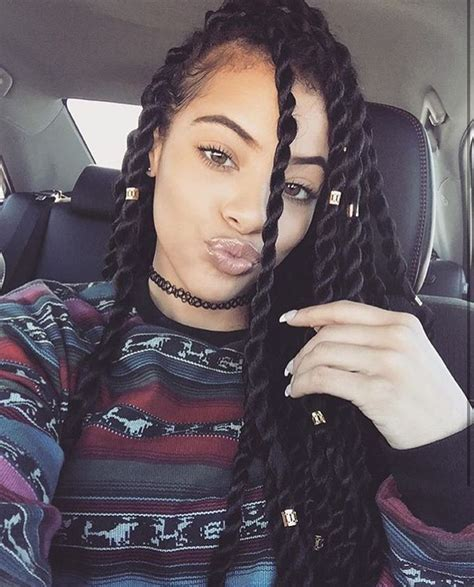 Hairstyles For Twist Braids by Best 25 Senegalese Twists Ideas On Twists
