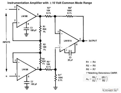 integrated circuit instrumentation lifier the instrumentation lifier circuit with common mode signal input lifier circuit